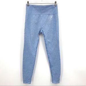 Gymshark Vital Seamless Full Length Leggings Blue
